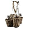 Blossom Bucket Condiment Wicker Basket