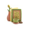 """<strong>""""Kisses or Cookies"""" Card and Flower Statue</strong> by Blossom Bucket"""