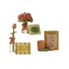 Blossom Bucket 3 Piece Mother's Day Roses and Cards Statue Set