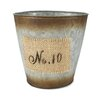 """No.10"" Round Pot Planter"
