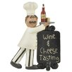 "Blossom Bucket ""Wine & Cheese Tasting"" Plaque with Chef"