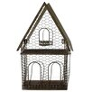 Blossom Bucket Triangle Bird House Planter