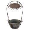 Blossom Bucket Welcome Basket Round Pot Planter