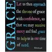 "Blossom Bucket Decorative ""Grace"" Wall Box Sign"