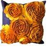 Auburn Textile 3-D Effect Felt Accent Pillow