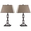 "Thom Filicia Home Collection Jamesville 30.5"" H Table Lamp with Rectangular Shade (Set of 2)"