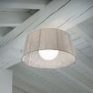 Morosini Ribbon 1 Light Semi Flush Mount