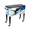 <strong>Sainty International</strong> Flying Free Above the Cloud 80 Qt. Rolling Patio Cooler