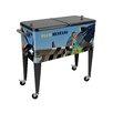 Sainty International Warbird Pinup Girls Crazy Horse 80 Qt. Rolling Patio Cooler