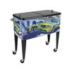 <strong>Flashback on the Track 80 Qt. Rolling Patio Cooler</strong> by Sainty International