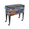 Sainty International The General's Stars Have Stripes 80 Qt. Rolling Patio Cooler
