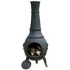 <strong>La Hacienda</strong> Cast Iron Plaited Chimenea