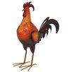 La Hacienda Steel Proud Rooster Figurine