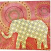 <strong>Evive Designs</strong> Elephant Canvas Art