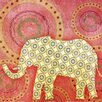 <strong>Evive Designs</strong> Elephant Paper Print