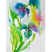 Evive Designs Color Me Pretty Summery by Lana Painting Print