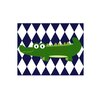 <strong>Funky Alligator Paper Print</strong> by Evive Designs