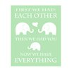 <strong>Evive Designs</strong> Elephant Typography by Rizzle and Rugee Graphic Art