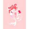 Evive Designs Mermaid and Twin Daughter Paper Print