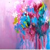 Evive Designs 'Color Me Pretty II' by Lana Moes Painting Print