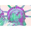 Evive Designs Miss Liberty by Evie Empire Graphic Art