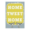 Evive Designs Home Tweet Home by Felt Mountain Studios Graphic Art