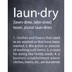 Evive Designs Laundry Textual Art by Susan Newberry
