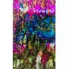 <strong>'Jeweled Forest' by Deborah Argyropoulos Painting Print</strong> by Evive Designs