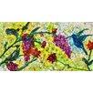 Evive Designs 'Hummingbird V' by Deborah Argyropoulos Painting Print