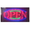 "DSD Group 12"" x 23"" Animated LED Open Sign"