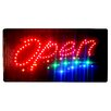 "DSD Group 10"" x 19"" Animated Motion LED Neon Light Open Sign"