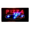 "DSD Group 10"" x 19"" Animated Motion LED Neon Light Pizza Pie Sign"
