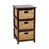 "<strong>OSP Designs</strong> Seabrook 16.5"" Storage Unit"