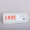 Adams & Co Love is All You Need Wood Picture Frame