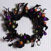 "Adams & Co 18"" Halloween Berry/Leaf Wreath"