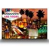 Artefx Decor Vegas Strip Lights Graphic Art on Canvas
