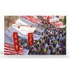 Artefx Decor Hong Kong Marketplace Painting Print on Canvas