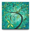 Artefx Decor Spring Shine Textured Painting Print on Canvas