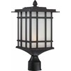 <strong>Volume Lighting</strong> 1 Light Outdoor Post Mount Lantern