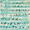 "Salty & Sweet ""Bird On A Wire"" Canvas Art"