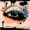 "Salty & Sweet ""Abstract Eye"" Graphic Art on Canvas"
