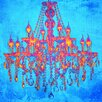 "Salty & Sweet ""Tropic Chandelier"" Canvas Art"
