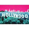 "Fluorescent Palace ""Hollywoodland"" Canvas Art"