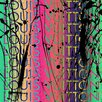 "Fluorescent Palace ""Colorfast Couture Multi"" Canvas Art"