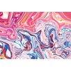 Crush Collective Centre Liquid Graphic Art on Canvas