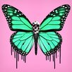 "Crush Collective ""Dripping Wings Pink"" Canvas Art"