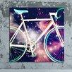 "Crush Collective ""Space Bike"" Canvas Art"