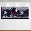 "Crush Collective ""Daft Cash Silver"" Canvas Art"