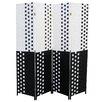 "ORE Furniture 70.75"" x 70.5"" 4 Panel Room Divider"
