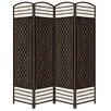 "ORE Furniture 66.75"" x 63.25"" 4 Panel Room Divider"